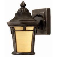 Hinkley Lighting Key West 1 Light Outdoor Wall Lantern in Regency Bronze 1616RB