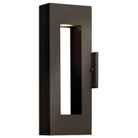 Hinkley 1640BZ-LED Atlantis LED 16 inch Bronze Outdoor Wall Lantern