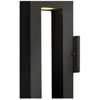 Hinkley 1640SK Atlantis 2 Light 16 inch Satin Black Outdoor Wall Mount in GU10 alternative photo thumbnail