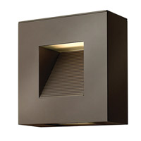 Hinkley 1647BZ Luna 2 Light 9 inch Bronze Outdoor Wall Lantern in Etched, Compact Fluorescent
