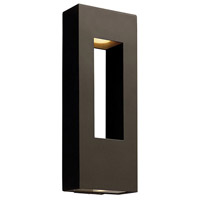 Hinkley Lighting Atlantis 2 Light Outdoor Wall Lantern in Bronze 1649BZ-LED