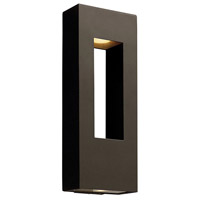 Hinkley Lighting Atlantis 2 Light Outdoor Wall Lantern in Bronze 1649BZ