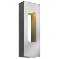 Hinkley Lighting Atlantis 2 Light Outdoor Wall Lantern in Titanium 1649TT