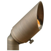 Hardy Island 12V 2.5 watt Matte Bronze Landscape Spot Light in 2700K, 2700K 60-Degree Flood
