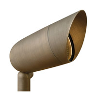 Hinkley Lighting Hardy Island 1 Light Landscape Spot Accent in Matte Bronze 16504MZ photo thumbnail