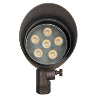 Hinkley Lighting Hardy Island 1 Light Landscape Spot Accent in Matte Bronze 16504MZ alternative photo thumbnail