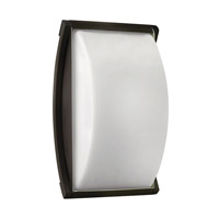 Atlantis 1 Light 11 inch Bronze Outdoor Wall in GU24