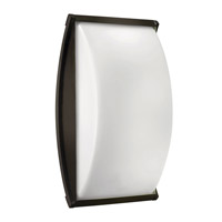 Atlantis 1 Light 15 inch Bronze Outdoor Wall in GU24