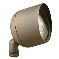 Hinkley Lighting Hardy Island 1 Light Landscape Flood Accent in Matte Bronze 16577MZ