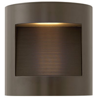 Luna LED 9 inch Bronze Outdoor Wall Mount