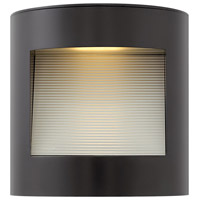 Hinkley 1659SK Luna LED 9 inch Satin Black Outdoor Wall Mount