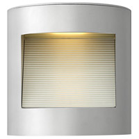 Hinkley 1659TT Luna LED 9 inch Titanium Outdoor Wall Mount, Small