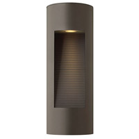Hinkley 1660BZ-LED Luna LED 17 inch Bronze Outdoor Wall Lantern in Etched