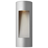 Hinkley Lighting Luna 2 Light Outdoor Wall Lantern in Titanium 1660TT