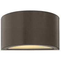 Luna LED 5 inch Bronze Outdoor Wall Sconce, Small