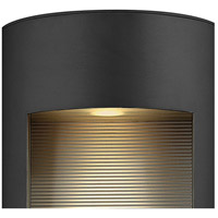 Hinkley 1664SK Luna 2 Light 24 inch Satin Black Outdoor Wall Mount in Incandescent alternative photo thumbnail