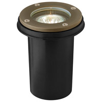 Hardy Island 12V 20 watt Matte Bronze Landscape Well Light, Low Volt