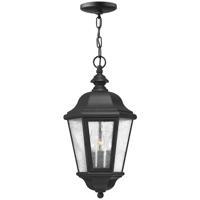 Hinkley 1672BK-LL Edgewater LED 10 inch Black Outdoor Hanging Light