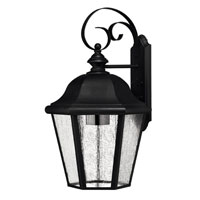 Hinkley Lighting Edgewater 1 Light Outdoor Wall Lantern in Black 1675BK-ESDS photo thumbnail