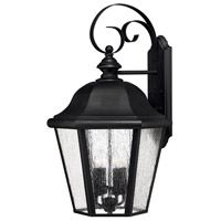 Hinkley 1675BK-LL Edgewater LED 26 inch Black Outdoor Wall Mount in Candelabra LED