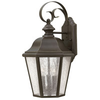 Hinkley 1676OZ-LL Edgewater LED 18 inch Oil Rubbed Bronze Outdoor Mini Wall Mount in Candelabra LED