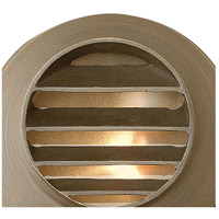 Hinkley 16804MZ Hardy Island 12V 20 watt Matte Bronze Landscape Deck in Incandescent, Round Louvered alternative photo thumbnail