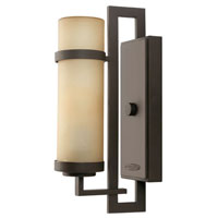 Hinkley Lighting Cordillera 1 Light Outdoor Wall Lantern in Buckeye Bronze 1690KZ-ES