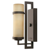 Hinkley Lighting Cordillera 1 Light GU24 CFL Outdoor Wall in Buckeye Bronze 1690KZ-GU24