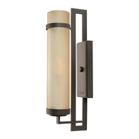 Hinkley Lighting Cordillera 1 Light GU24 CFL Outdoor Wall in Buckeye Bronze 1695KZ-GU24