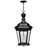 Camelot 3 Light 12 inch Black Outdoor Hanging Lantern in Incandescent