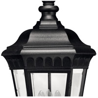 Hinkley 1702BK Camelot 3 Light 12 inch Black Outdoor Hanging Light in Incandescent alternative photo thumbnail