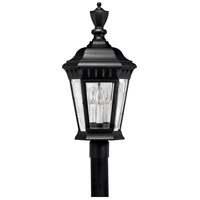Camelot 3 Light 26 inch Black Post Lantern, Post Sold Separately
