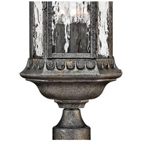 Hinkley 1721BG Regal 3 Light 23 inch Black Granite Outdoor Post Mount, Post Sold Separately alternative photo thumbnail