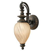 Hinkley Lighting Montreal 1 Light Outdoor Wall Lantern in Aged Iron 1730AI-ES