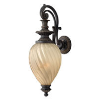 Hinkley Lighting Montreal 3 Light Outdoor Wall Lantern in Aged Iron 1735AI