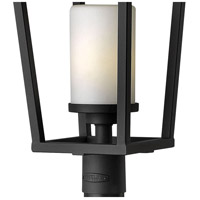 Hinkley 1741BK-LED Sullivan LED 26 inch Black Outdoor Post Mount, Etched Opal Glass alternative photo thumbnail