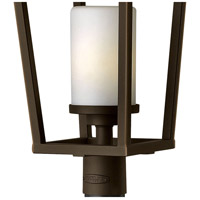 Hinkley 1741OZ Sullivan 1 Light 26 inch Oil Rubbed Bronze Outdoor Post Mount, Etched Opal Glass alternative photo thumbnail