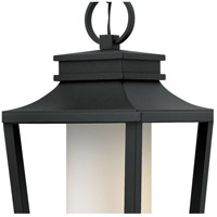 Hinkley 1742BK-LED Sullivan LED 12 inch Black Outdoor Hanging Lantern, Etched Opal Glass alternative photo thumbnail