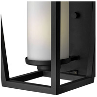 Hinkley 1744BK Sullivan 1 Light 18 inch Black Outdoor Wall Mount in Incandescent, Etched Opal Glass alternative photo thumbnail