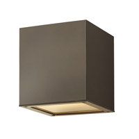 Hinkley Lighting Kube 1 Light Outdoor Ceiling Lantern in Bronze 1763BZ