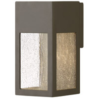 Hinkley 1780BZ Rook 1 Light 10 inch Bronze Outdoor Wall Mount in GU10