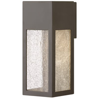 Hinkley 1784BZ-LL Rook LED 12 inch Bronze Outdoor Wall Mount