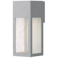 Hinkley 1784TT-LL Rook LED 12 inch Titanium Outdoor Wall Mount