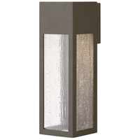 Hinkley 1785BZ-LL Rook LED 15 inch Bronze Outdoor Wall Mount