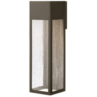 Hinkley 1788BZ-LL Rook LED 20 inch Bronze Outdoor Wall Mount