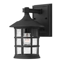 Hinkley Lighting Freeport 1 Light Outdoor Wall Mount in Black 1800BK-ESDS