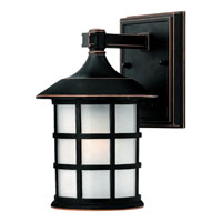 Hinkley Lighting Freeport 1 Light Outdoor Wall Lantern in Olde Penny 1800OP-DS photo thumbnail