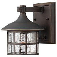 Hinkley 1800OZ Freeport 1 Light 9 inch Oil Rubbed Bronze Outdoor Wall Mount in Incandescent alternative photo thumbnail