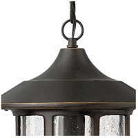 Hinkley 1802OZ Freeport 1 Light 10 inch Oil Rubbed Bronze Outdoor Hanging Light in Incandescent alternative photo thumbnail