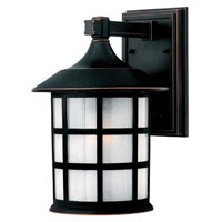 Hinkley Lighting Freeport 1 Light Outdoor Wall Lantern in Olde Penny 1804OP-ES photo thumbnail